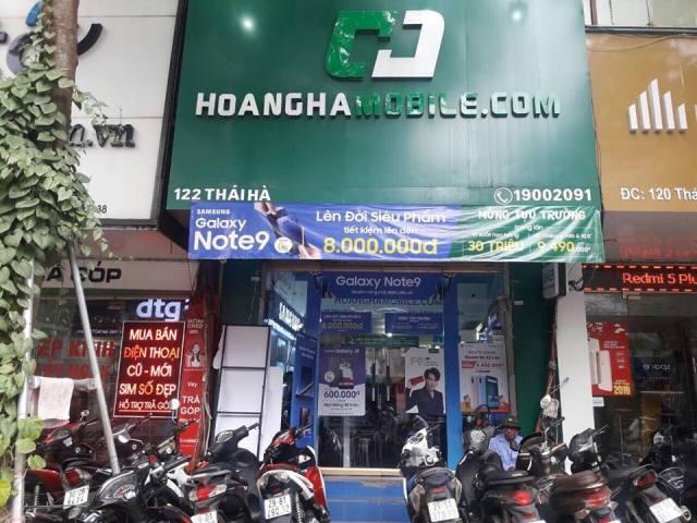 Hoanghamobile nhận thiếu sót trong tư vấn khách hàng