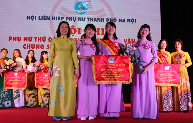 Phụ nữ Thủ đô chung sức xây dựng nông thôn mới