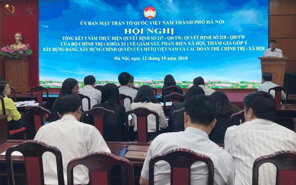Hà Nội: Qua các hoạt động giám sát, đã kiến nghị thu hồi 252.055m2 đất và trên 15 tỷ đồng