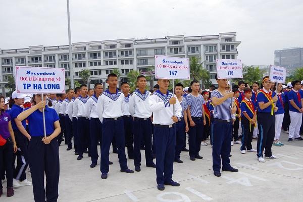 Lữ đoàn 147 Hải quân đoạt Giải nhất cuộc thi Việt dã truyền thống tỉnh Quảng Ninh năm 2018