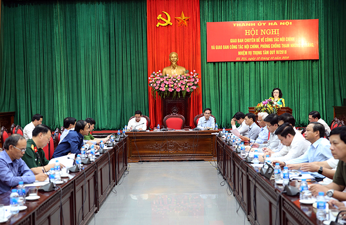 Hà Nội: Tăng cường phòng chống tội phạm và giải quyết mâu thuẫn tại các chung cư