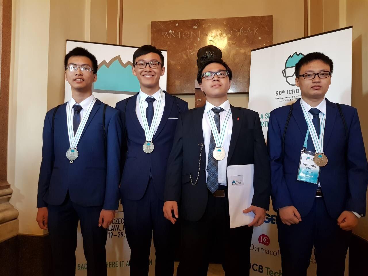 Dấu ấn của học sinh Việt Nam trên đấu trường quốc tế 5 năm qua