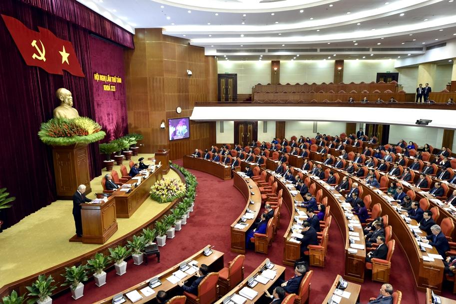 Tổng Bí thư: Ban hành Nghị quyết mới về Chiến lược kinh tế biển Việt Nam là hết sức quan trọng và cần thiết