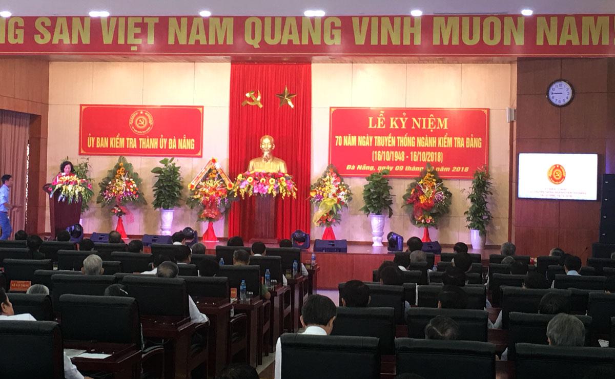 Đà Nẵng: Kỷ niệm 70 năm Ngày truyền thống ngành Kiểm tra Đảng