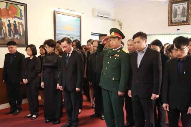 Đại sứ quán Việt Nam tại Ấn Độ tổ chức Lễ viếng nguyên Tổng Bí thư Đỗ Mười