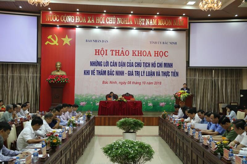 Những lời căn dặn của Chủ tịch Hồ Chí Minh khi về thăm Bắc Ninh - Giá trị lý luận và thực tiễn