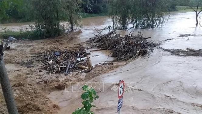 Vùng núi phía Bắc đề phòng lũ quét và sạt lở đất, nguy cơ ngập lụt tại Nam Bộ do triều cường
