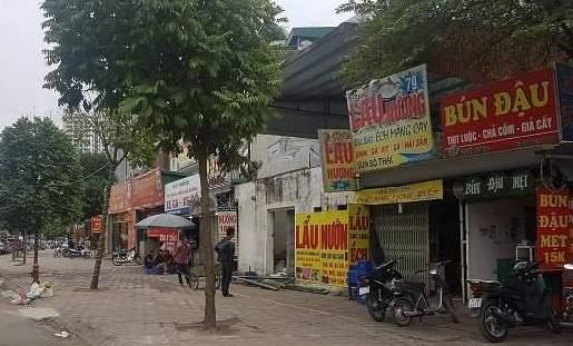 Xử lý nghiêm vi phạm về đất đai, xây dựng dọc đường Nguyễn Hoàng (Hà Nội)