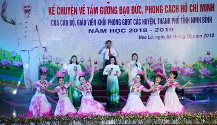 Ninh Bình: Hội thi kể chuyện về tấm gương đạo đức, phong cách Hồ Chí Minh