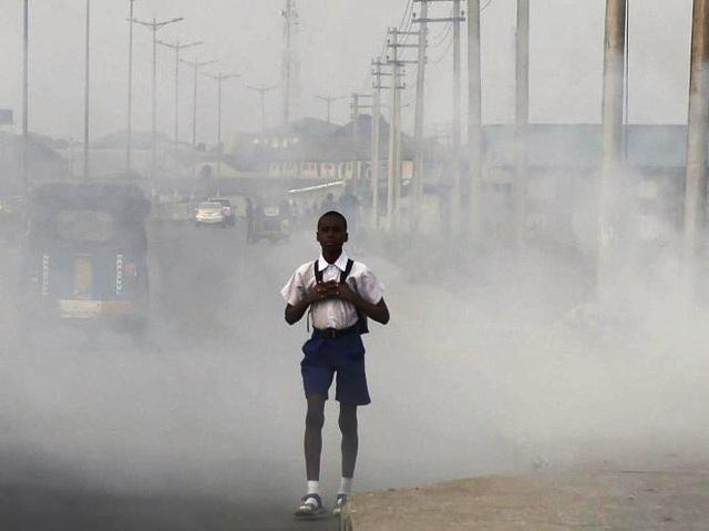 Hơn 90% trẻ em trên thế giới hít thở không khí ô nhiễm hàng ngày