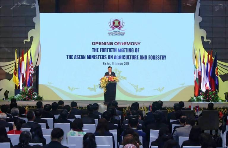 Hợp tác nông, lâm nghiệp luôn là nội dung then chốt của Cộng đồng Kinh tế ASEAN