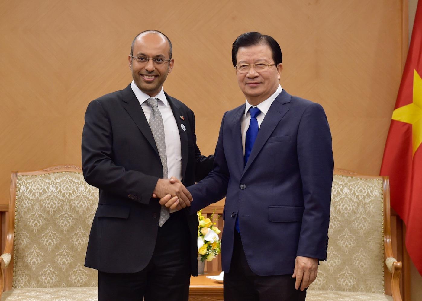 Việt Nam sẽ tạo mọi điều kiện thuận lợi để các nhà đầu tư UAE mở rộng đầu tư