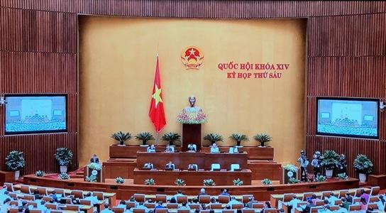 Trình Quốc hội phê chuẩn miễn nhiệm chức Bộ trưởng Bộ Thông tin và Truyền thông với ông Trương Minh Tuấn