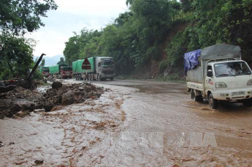 Cả nước xảy ra 25 đợt lũ quét và sạt lở đất