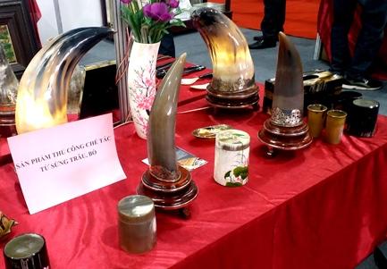 Hơn 650 gian hàng tại Hội chợ quốc tế Quà tặng hàng thủ công mỹ nghệ Hà Nội 2018