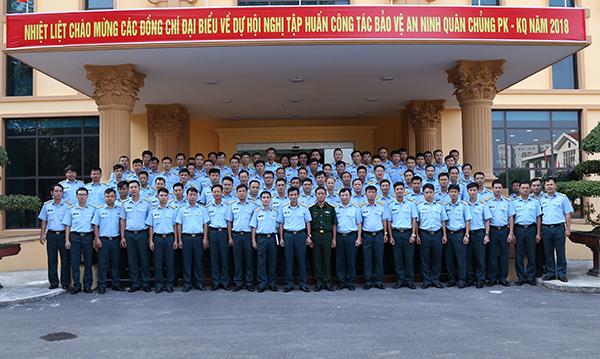 Quân chủng Phòng không Không quân tập huấn nghiệp vụ công tác bảo vệ an ninh