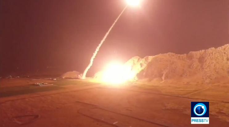 Iran không kích vào các mục tiêu khủng bố ở Syria