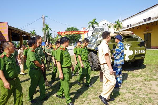 Bồi dưỡng kiến thức quốc phòng và an ninh cho công an tỉnh Quảng Ninh