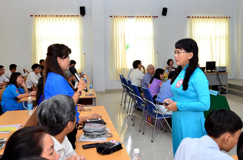 Tranh tài tại Hội thi Giảng viên lý luận chính trị giỏi khu vực phía Nam
