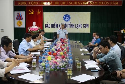 Lạng Sơn: Thanh tra chuyên ngành đóng BHXH, BHYT, BHTN tại 9 đơn vị