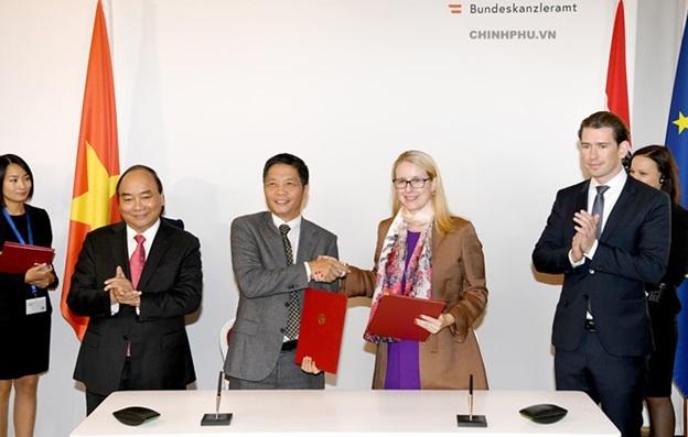 Đẩy mạnh hợp tác thương mại điện tử và công nghiệp 4.0 giữa Việt Nam và Áo