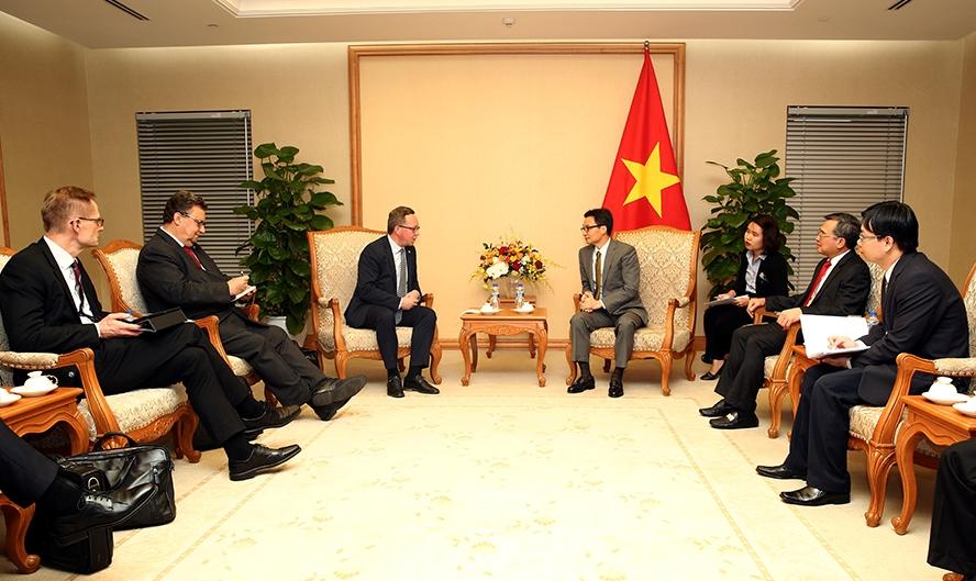 Tăng cường trao đổi, tìm kiếm cơ hội hợp tác kinh doanh doanh nghiệp Việt Nam - Phần Lan