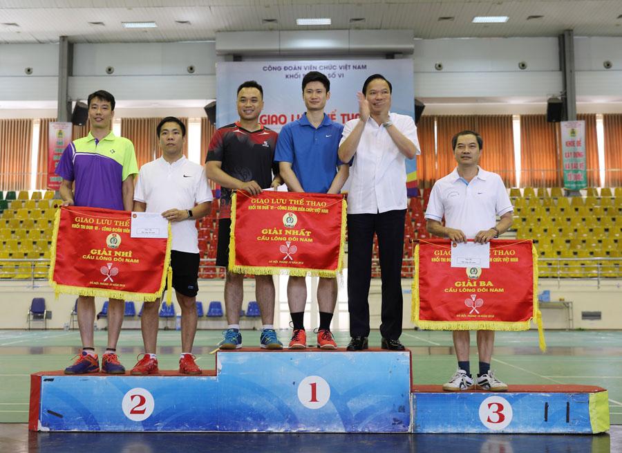 120 vận động viên tham gia giao lưu thể thao Công đoàn Khối thi đua số 6