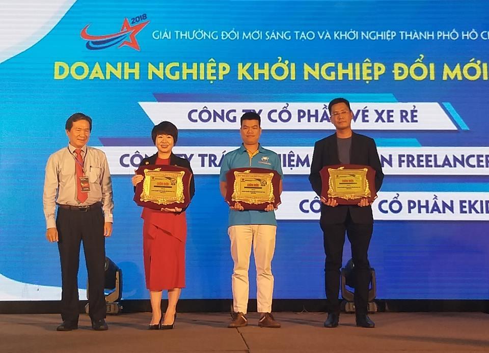 11 tổ chức và cá nhân nhận Giải thưởng Đổi mới sáng tạo và Khởi nghiệp TP. Hồ Chí Minh 2018