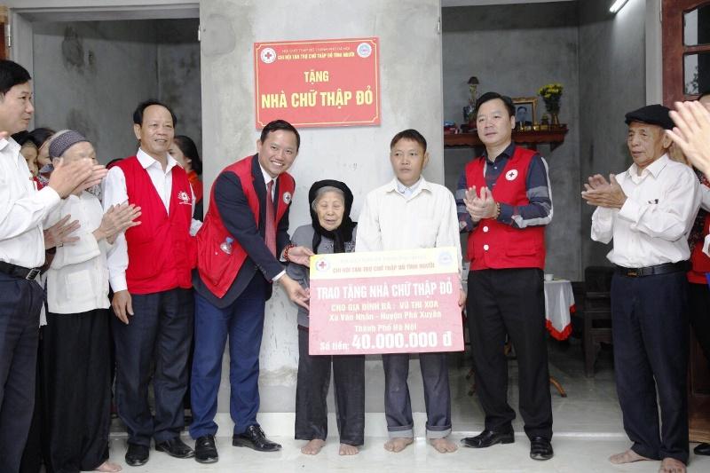 """Nhà Chữ thập đỏ - mô hình thành công từ phong trào """"Dân vận khéo"""""""