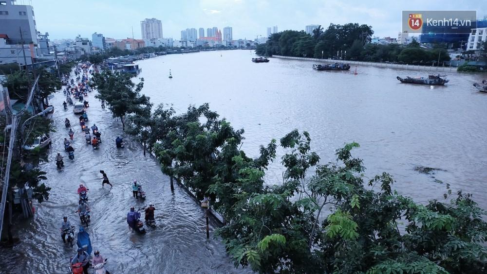 Nguy cơ ngập lụt sâu ở một số tỉnh miền Nam