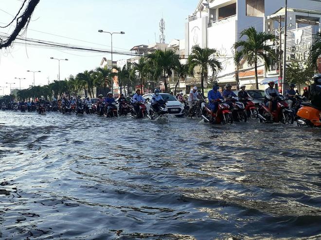 Nguy cơ cao xảy ra ngập lụt ở một số tỉnh miền Nam