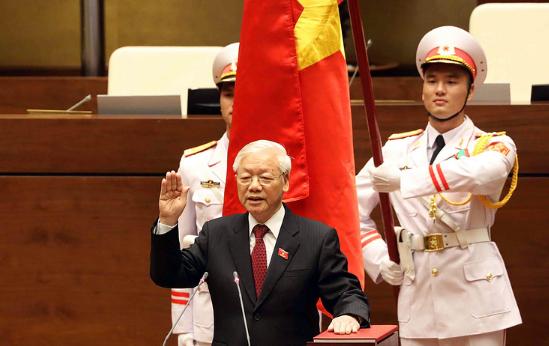 Truyền thông nước ngoài đưa tin đậm nét về việc Tổng Bí thư Nguyễn Phú Trọng được bầu làm Chủ tịch nước