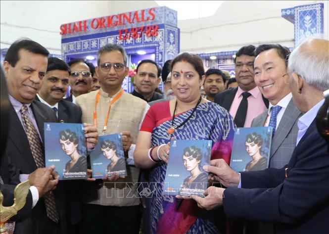 21 doanh nghiệp Việt Nam tham dự Hội chợ Quốc tế Lụa Ấn Độ lần thứ 6