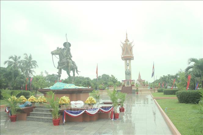 Đài Hữu nghị Việt Nam - Campuchia minh chứng tình hữu nghị giữa hai nước