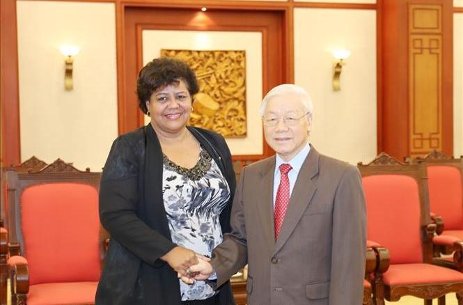 Tổng Bí thư Nguyễn Phú Trọng: Việt Nam coi thắng lợi của Cu-ba như thắng lợi của mình