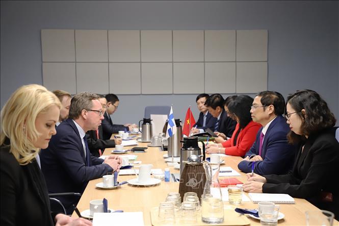 Thúc đẩy quan hệ Phần Lan – Việt Nam phát triển ngày càng sâu rộng và thực chất