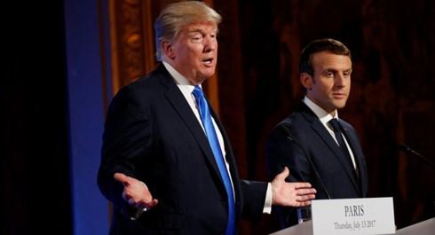 Ông Trump kêu gọi châu Âu chia sẻ chi phí quân sự với Mỹ