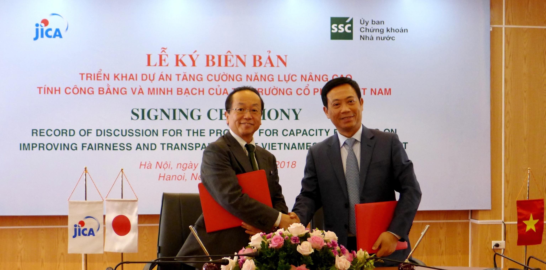 Nhật Bản hỗ trợ nâng cao tính công bằng và minh bạch của thị trường cổ phiếu Việt Nam