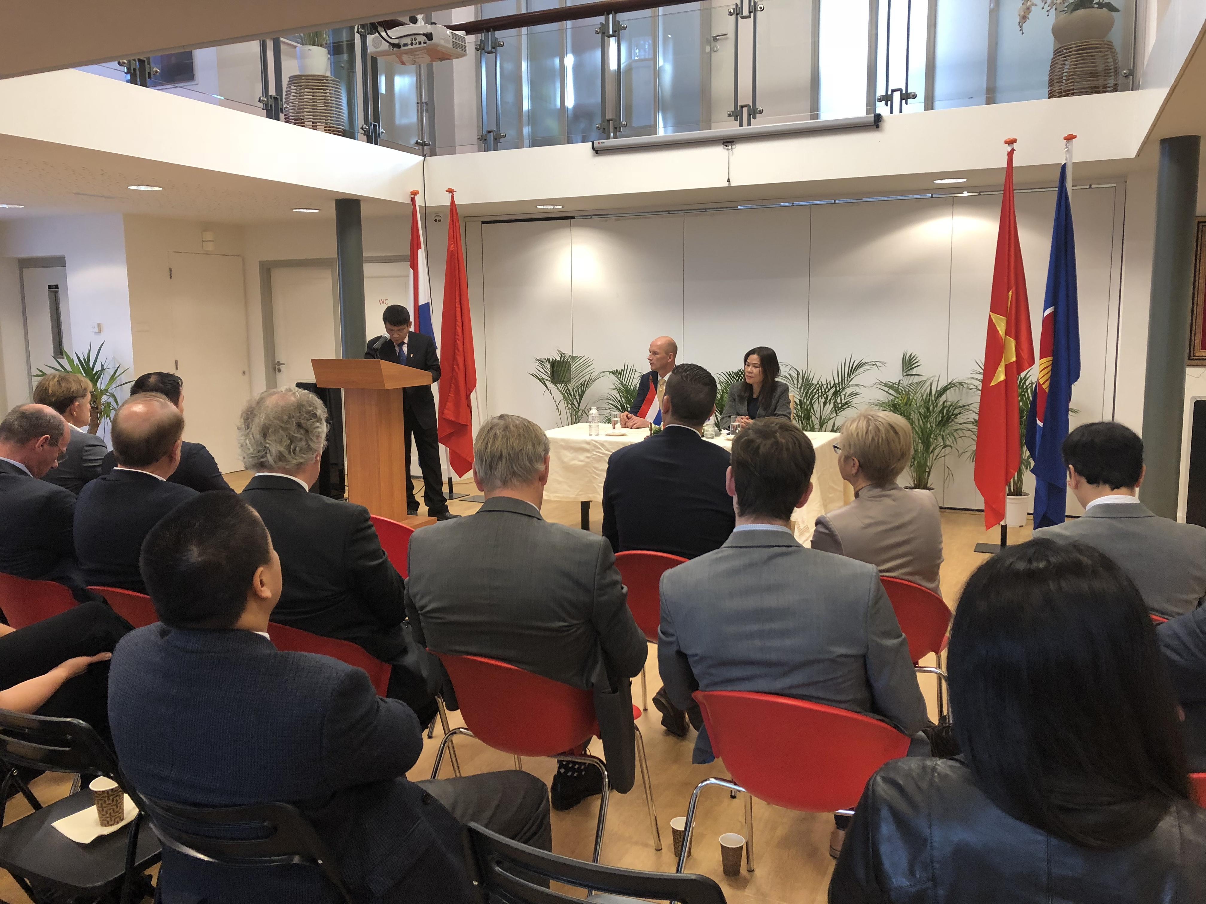 Thúc đẩy quan hệ hợp tác thương mại đầu tư Việt Nam - Hà Lan
