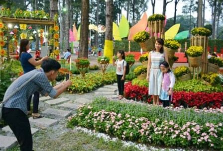 TP Hồ Chí Minh sẽ tổ chức hội hoa xuân Tết Kỷ Hợi tại các công viên lớn