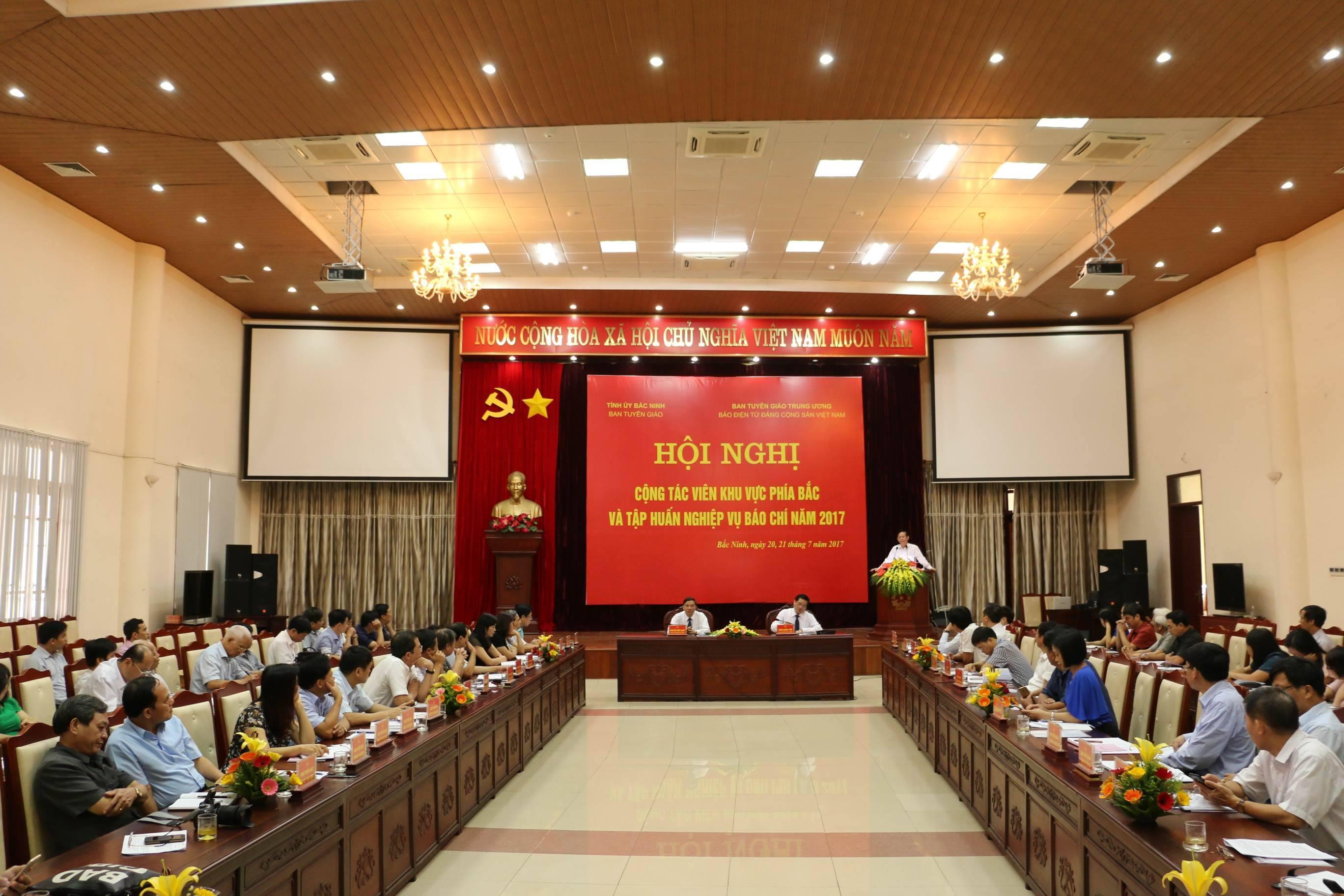 Báo điện tử Đảng Cộng sản Việt Nam tổ chức Hội nghị Cộng tác viên khu vực phía Bắc