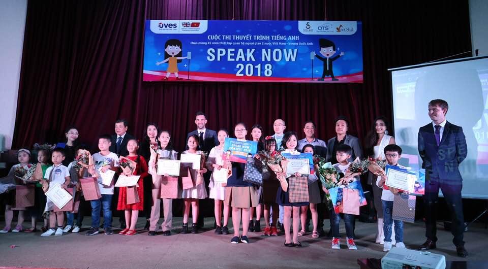 """""""Speak Now 2018"""" – sân chơi bổ ích cho trẻ em Việt Nam"""