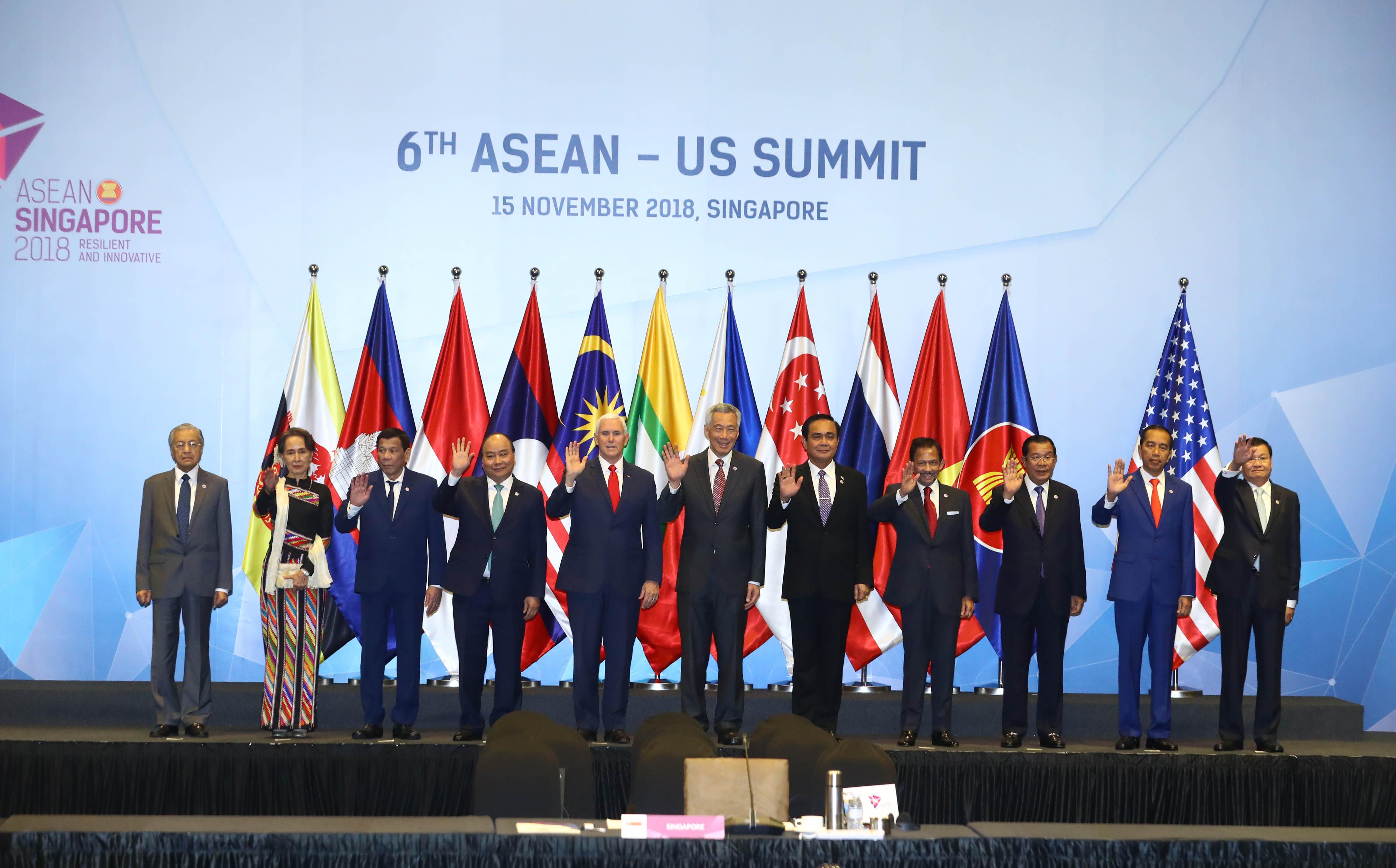 Hoa Kỳ cam kết đẩy mạnh quan hệ với ASEAN
