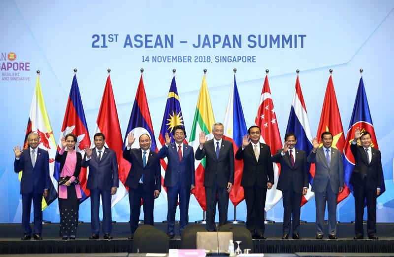 Quan hệ Đối tác chiến lược và hợp tác toàn diện ASEAN - Nhật Bản không ngừng được đẩy mạnh