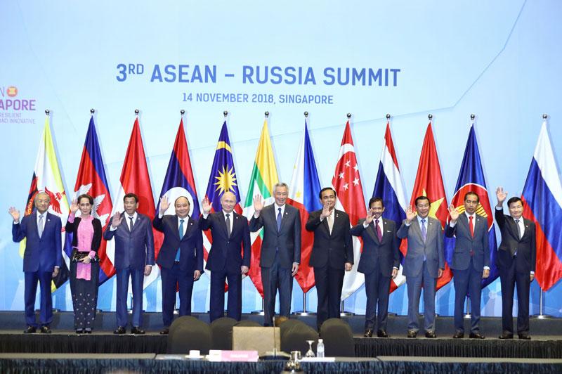 Nâng tầm quan hệ ASEAN-Nga lên Đối tác chiến lược