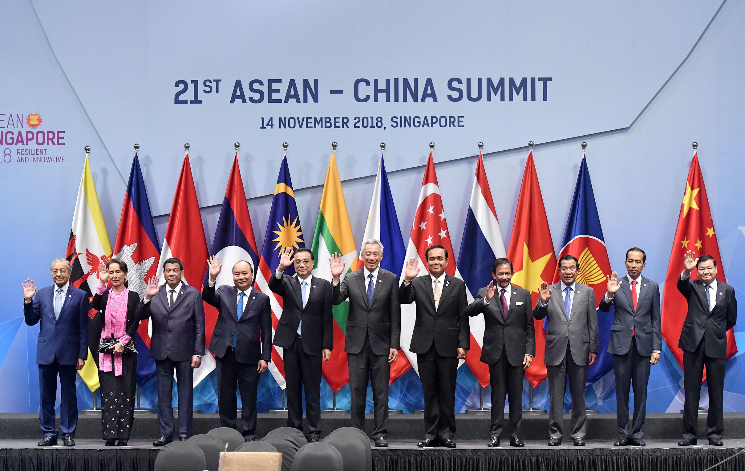 Quan hệ ASEAN - Trung Quốc phát triển mạnh mẽ trên cơ sở tin cậy, hiểu biết và tôn trọng lẫn nhau
