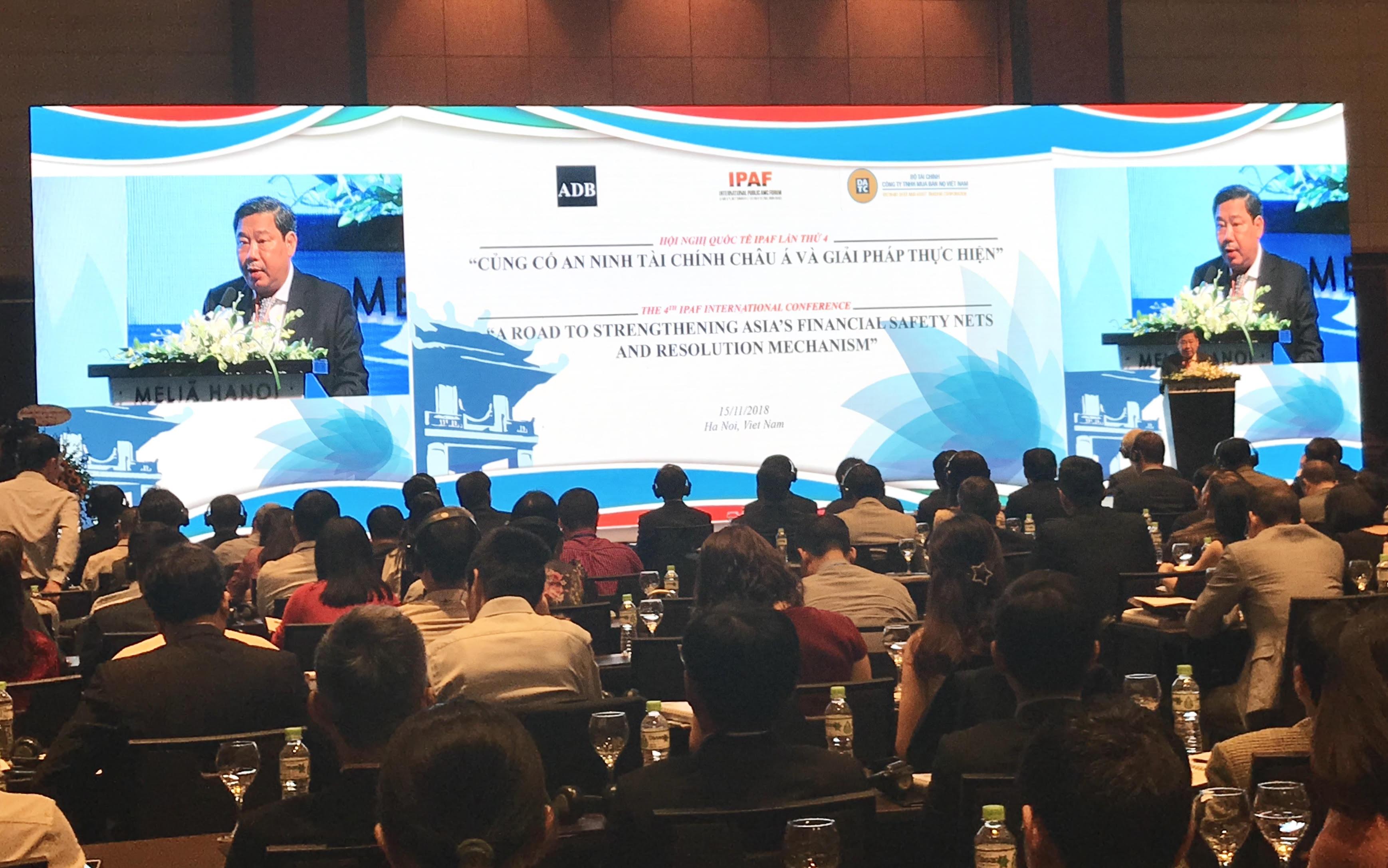 IPAF 2018: Chia sẻ kinh nghiệm xử lý nợ xấu và củng cố an ninh tài chính châu Á