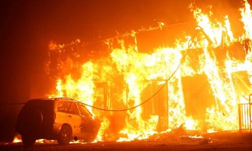California ban bố tình trạng khẩn cấp do cháy rừng