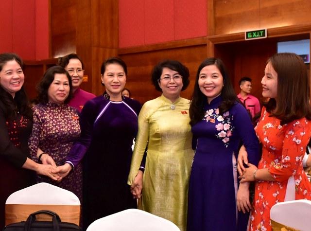 Tăng cường sự tham gia của phụ nữ trong chính trị