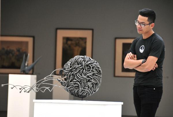 Điêu khắc nhỏ gợi mở tư duy sáng tạo lớn